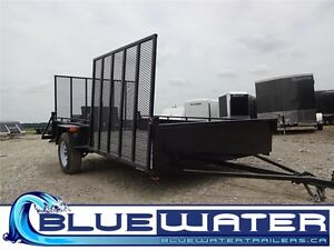 2016 ATV Trailer 80 x 12!! EASY LOADING FOR YOUR ATV- $47/MTH!! London Ontario image 1