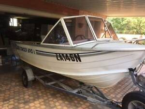 3.9 Stacer Runabout with 18HP Outboard Figtree Wollongong Area Preview