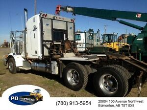 2008 Peterbilt 367 T/A Sleeper Winch Tractor