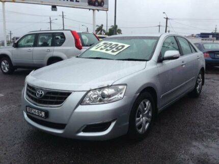 2007 Toyota Aurion GSV40R AT-X Silver 6 Speed Auto Sequential Sedan