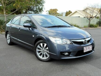 2011 Honda Civic 8th Gen MY11 VTi-L Grey 5 Speed Automatic Sedan Chermside Brisbane North East Preview