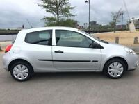 RENAULT CLIO 1.1 EXTREME 3d 74 BHP JUST SERVICED AND MOT READY (silver) 2010