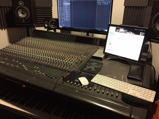 Amek By Langley Studio Mixing Desk And Or Digital Hybrid Setup With