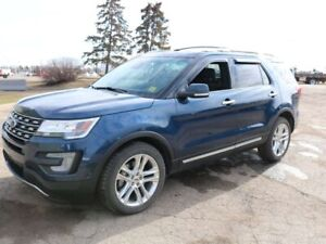 2017 Ford Explorer LIMITED, 301A, 3.5L V6, 4WD, SYNC3, REAR CAME