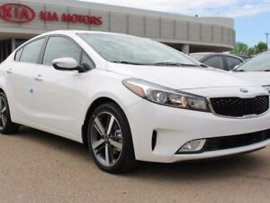 2017 Kia Forte EX+, SUNROOF, BACKUP CAM, SIRIUS, HEATED SEATS, U