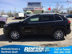 2017 Jeep Cherokee Limited, Technology Group, Safety Sphere, Pan