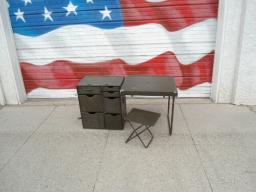 U.S. Military Wood Field Desk (USED) NSN: 7110-00-267-1999