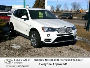 2016 BMW X3 X-Drive 28i Executive Lease Return Only $41990