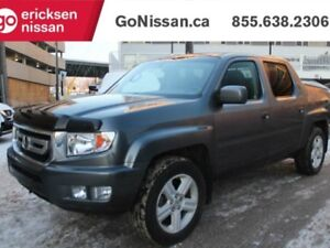 2010 Honda Ridgeline EX-L: LEATHER, SUNROOF, 4X4