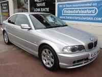 2002 BMW 325 CI SE Coupe Silver