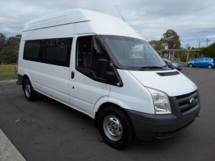 2011 Ford Transit VM MY08 High (LWB) White 6 Speed Manual Van Yagoona Bankstown Area Preview