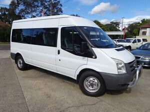2007 Ford Transit VM 12 Seat White 6 Speed Manual Bus Sylvania Sutherland Area Preview