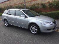 DIESEL MAZDA 6 ESTATE 54REG FULL YEAR MOT EXCELLENT CONDITION