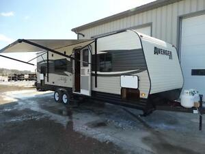 2018 Avenger 26BB travel trailer with bunks. $75 / payment!
