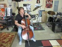 MUSIC LESSONS CELLO FALL 2016