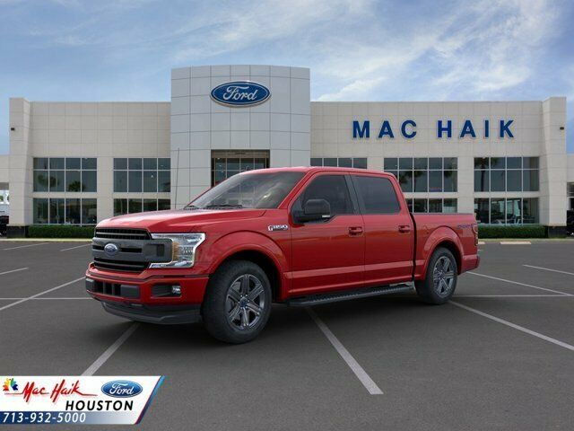 2020 Ford F-150 XLT 1088 Miles Rapid Red Tinted Crew Cab Pickup Twin Turbo Regul