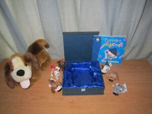 Dog & 6 Puppies Toys AND Book