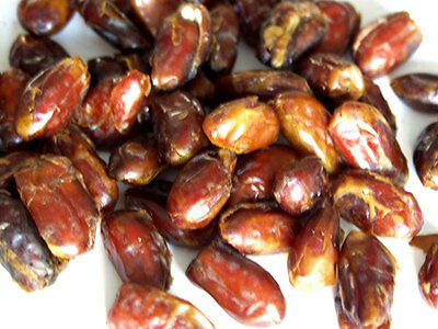 Natural Pitted Dates -3 lbs bag-Green Bulk