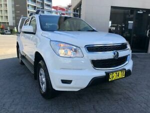 2015 Holden Colorado RG MY15 LS (4x2) White 6 Speed Automatic Crew Cab Pickup North Strathfield Canada Bay Area Preview