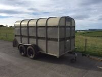 Used Bateson 12ft Livestock Trailer