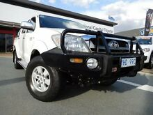 2010 Toyota Hilux KUN26R 09 Upgrade SR5 (4x4) White 4 Speed Automatic Dual Cab Pick-up Greenway Tuggeranong Preview