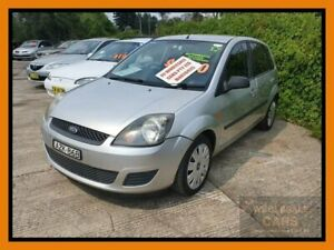 2006 Ford Fiesta WQ LX Silver Automatic Hatchback Chipping Norton Liverpool Area Preview