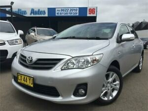 2012 Toyota Corolla ZRE152R MY11 Ascent Sport Silver 6 Speed Manual Sedan Blacktown Blacktown Area Preview