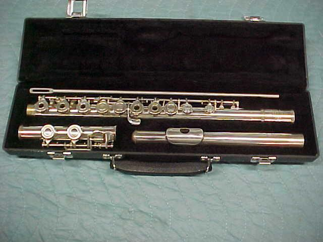 Artley Solid Silver Open Hole Flute, EXCELLENT Condition!
