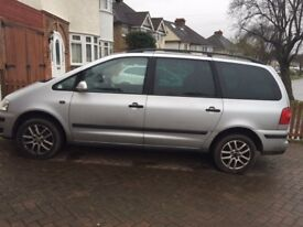 VW SHARAN 2007 silver available for sale £3490