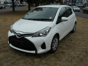2015 Toyota Yaris NCP130R MY15 Ascent White 4 Speed Automatic Hatchback Belconnen Belconnen Area Preview