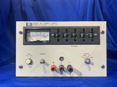 Agilent 6112a Dc Power Supply Parts Unit