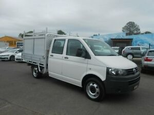 2012 Volkswagen Transporter T5 MY13 TDI400 LWB DSG White 7 Speed Sports Automatic Dual Clutch