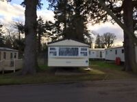 CARAVAN FOR RENT AT HAGGERSTON CASTLE 4 BEDROOM SLEEPS 10