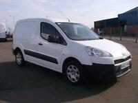 Peugeot Partner L1 850 S 1.6 HDI 92 BHP VAN DIESEL MANUAL WHITE (2013)