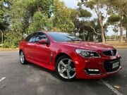 2016 Holden Commodore VF II MY16 SV6 Red 6 Speed Sports Automatic Sedan Elizabeth Playford Area Preview