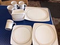 Melamine dinner set 17 piece