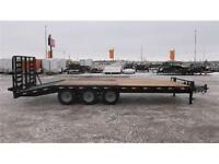 2015 LOAD TRAIL 25' EQUIPMENT DECKOVER TRAILER