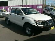 2012 Ford Ranger PX XL 2.2 (4x4) White 6 Speed Automatic Crew Cab Utility Dubbo Dubbo Area Preview