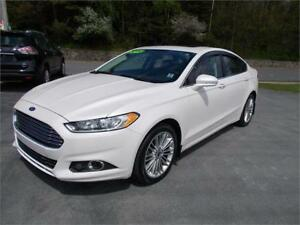 2014 FORD FUSION AWD SE LOADED SUNROOF & LEATHER $79 WKLY OAC