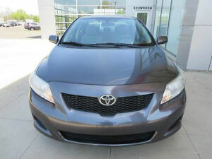 2010 Toyota Corolla CE SPORT--5 SPEED-ONE OWNER--ONLY 146,000KM