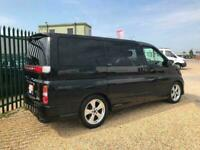 2009 Nissan ELGRAND MK2 HIGHWAY STAR BLACK EDITION LTD MPV Petrol Automatic