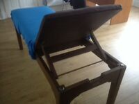 Massage treatment couch wood very strong and sturdy 4 available