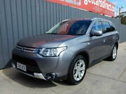 2014 Mitsubishi Outlander ZJ MY14.5 ES 2WD Grey 6 Speed Constant Variable Wagon Blair Athol Port Adelaide Area Preview