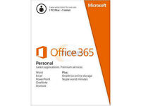 Microsoft Office 365 Personal - 1 PC/Mac + 1 Tablet