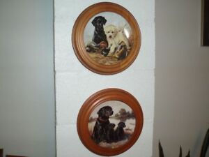 Labrador Retriever Collector Plates
