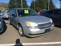 2005 Chevrolet Malibu Locally Owned | Block Heater | Remote Vehi