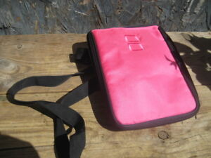 nintendo Dsi XL/ DS bag, shoulder strap, washable fabric materia