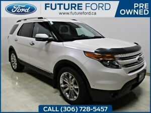 2013 Ford Explorer Limited- 2ND ROW CAPTAIN CHAIRS- DUAL MOONROO