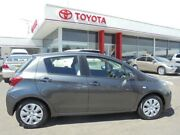 2014 Toyota Yaris NCP130R MY15 Ascent Graphite 4 Speed Automatic Hatchback Belmore Canterbury Area Preview