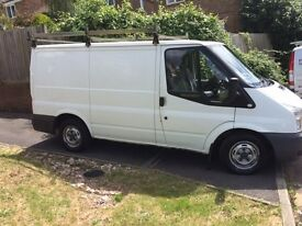 White Transit, 99,000 miles , in very good condition inside and out , full service history, 2 keys